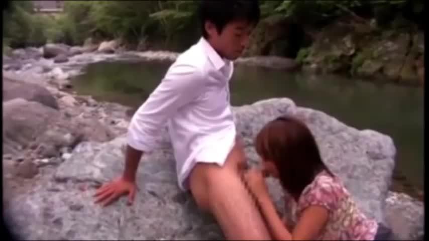 【真崎美里(吹石れな)】大自然交尾がテーマになった女子向けアダルトビデオ作品です(青姦プレイ)