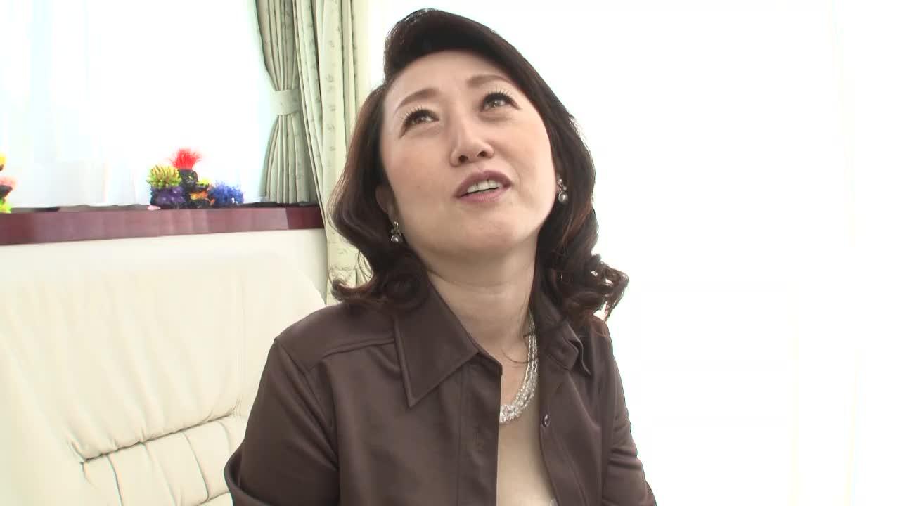 【榎木さゆり/50歳/五十路の初撮りドキュメント企画】素人の高齢熟女がアダルトビデオに出演する